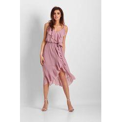 f61e393046 suknie sukienki luzna asymetryczna sukienka z dluzszym tylem m259 ...