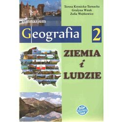 Geografia GIM KL 2 Podręcznik Ziemia i ludzie (opr. broszurowa)