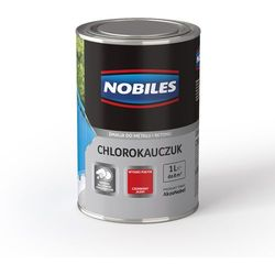 Emalia Chlorokauczuk Błękitny połysk 5L Nobiles