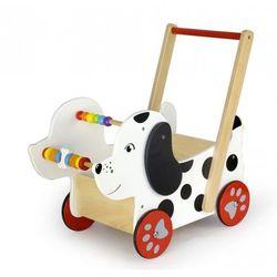 Pchacz chodzik wózek - Piesek dalmatyńczyk