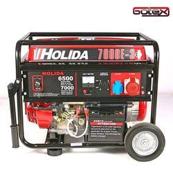 Generator prądu 7000-3 trójfazowy 7 kW - rozrusznik elektryczny