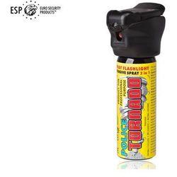 Gaz pieprzowy KOLTER-GUARD TORNADO 63 ml z latarką