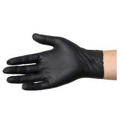 Rękawiczki Nitrylowe czarne XL