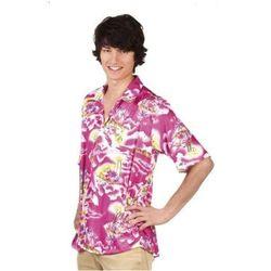 Koszula Hawajska różowa - M/L - stroje/przebrania dla dorosłych