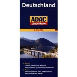 Niemcy mapa 1:650 000 ADAC (opr. twarda)