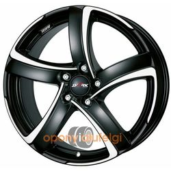 Alutec SHARK RACING BLACK FRONTPOLISHED 7.00x16 5x112 ET38, DOT
