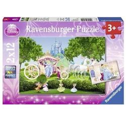 Puzzle 2X12 Magiczny świat