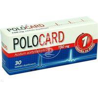 Polocard 150 mg x 30 dojelitowych tabletek powlekanych
