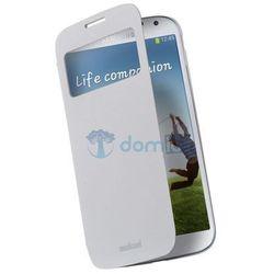 Etui na telefon z klapką Samsung Galaxy S4 FLAP VIEW - białe