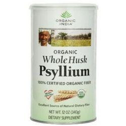 Błonnik Organiczny - Łuski z nasion Babki Płesznik (Psyllium), 340g, Organic India