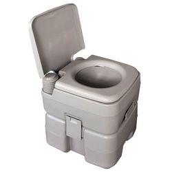 Happy Green Przenośna toaleta - 20 litrów - Gwarancja terminu lub 50 zł! - Bezpłatny odbiór osobisty: Wrocław, Warszawa, Katowice, Kraków
