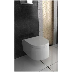 OLIVIA Miska WC wisząca Rimless + deska wolnoopadająca