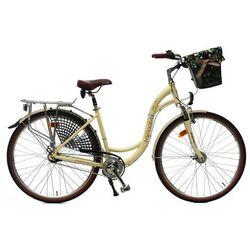 Maxim rower miejski MC 1.6.7 kremowy 18