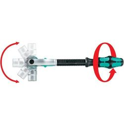 Klucz Wera 8000 B Zyklop, 10 mm