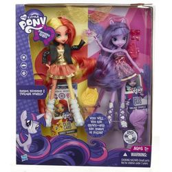 Lalka Equestria Girls Sunset Shimmer & Twilight Sparkle A3997 Hasbro