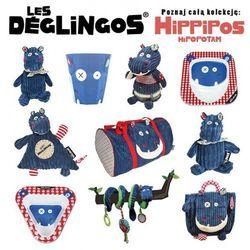 Les Deglingos 3 częściowy zestaw z melaminy Hipopotam Hippipios