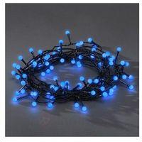 Łańcuch świąteczny zewnętrzny LED 80-punktowy