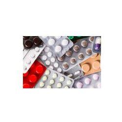 Foto naklejka samoprzylepna 100 x 100 cm - Tabletki, leki, medycyna