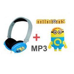 Słuchawki Minionki Rozrabiają + Odtwarzacz MP3