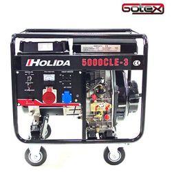 Generator prądu HOLIDA 5000CLE-3 trójfazowy 5 kW EL. zapłon
