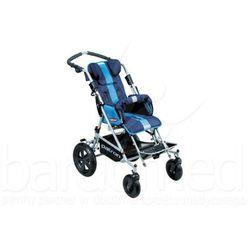 Wózek inwalidzki dziecięcy spacerowy Patron TOM X-Country super maxi szer. 42