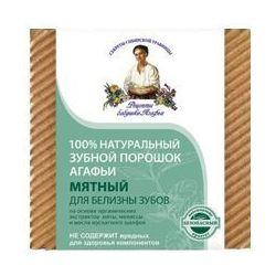 Receptury Agafii - Proszek do czyszczenia zębów MIĘTOWY