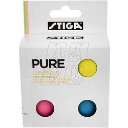 Piłeczki do tenisa stołowego STIGA Pure Color 4 szt