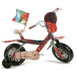 Blaszany rowerek dziecięcy
