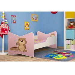 Łóżko parterowe Ken 140 x 70