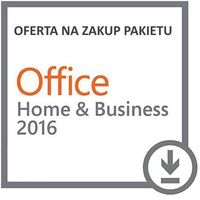 Microsoft Office Home & Business 2016 ESD PL na MAC