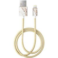 iDeal Of Sweden - kabel lightning 1 m (Carrara Gold)