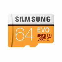Karta pamięci SAMSUNG EVO 64GB MicroSD MB-MP64HA UHS-I + Adapter