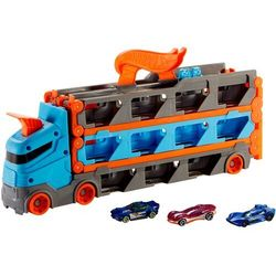 Hot Wheels: City - Wyścigowy transporter 2w1 (GVG37). Wiek: 4+
