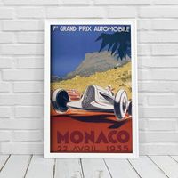 Plakat do pokoju Plakat do pokoju Grand Prix Automobile Monaco