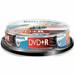 Płyta PHILIPS DVD+R Cake 10